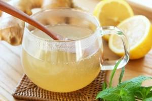 生姜茶の写真