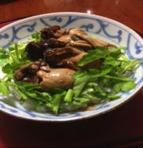 牡蠣の薬膳しぐれ煮の写真