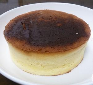 パンケーキが焦げた写真
