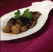 牡蠣のしぐれ煮の写真