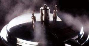 圧力鍋の写真