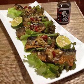 秋刀魚薬膳料理
