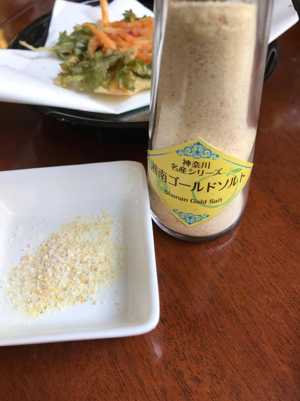 湘南ゴールドの塩