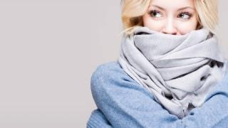 真冬の冷え対策